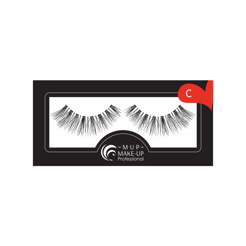 GENE FALSE BANDA C  PAR NATURAL  Make-up Professional Eyelashes