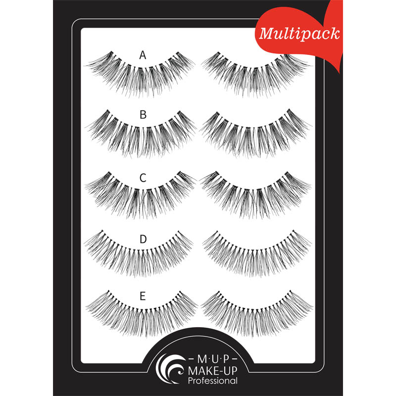 Gene MultiPack A,B,C,D,E  Make-up Professional Eyelashes