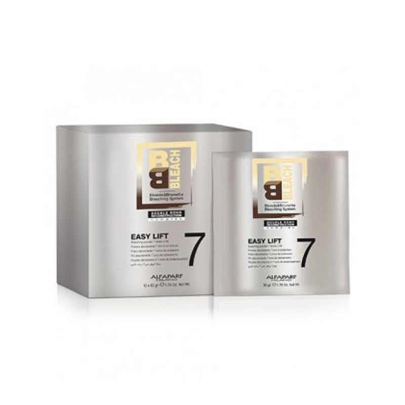 Pudra decoloranta 7 tonuri BB BLEACH EASY LIFT 7 TONES 12x50g Alfaparf