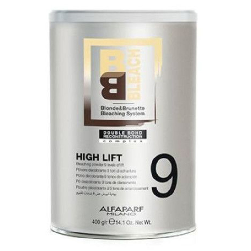 Pudra decoloranta 9 tonuri BB BLEACH HIGH LIFT 9 TONES 400g  Alfaparf