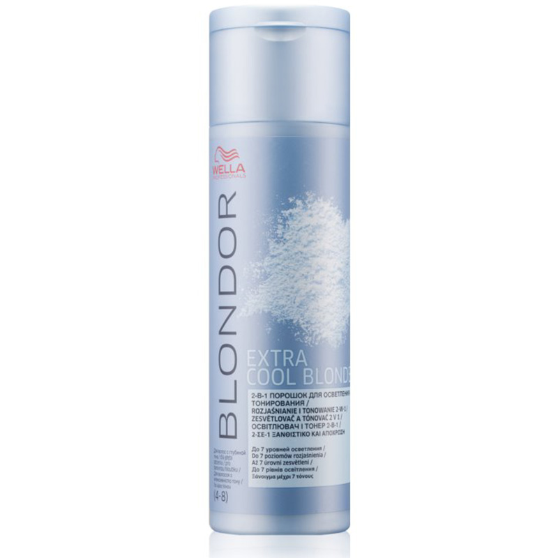 Decolorant 2 in 1 BLONDOR EXTRA COOL BLONDE 150 G Wella Professionals