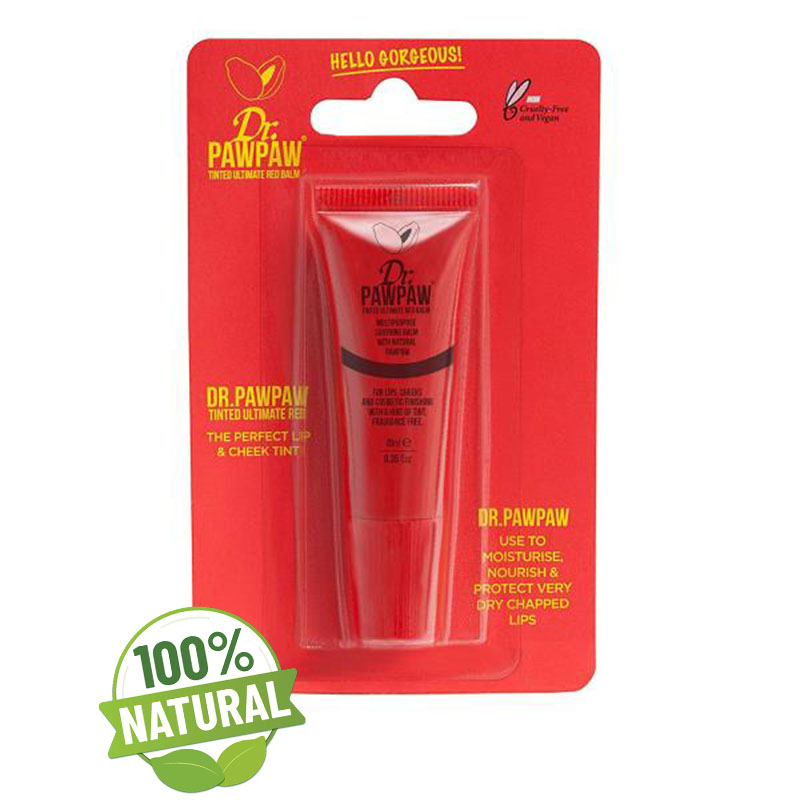 Balsam multifunctional nuanta RED 10 ml Dr Paw Paw