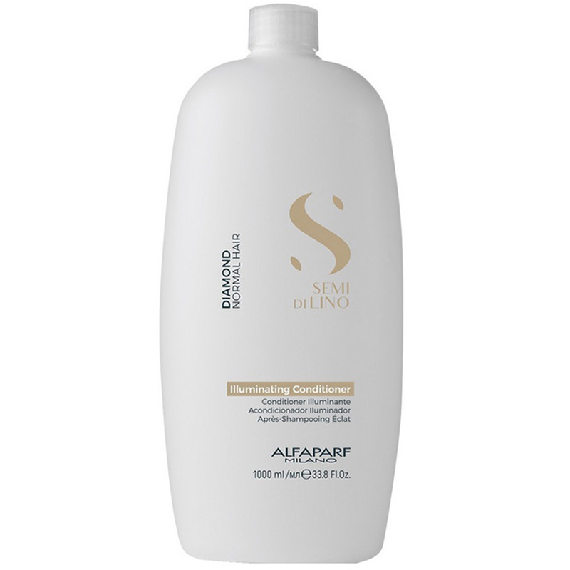 Balsam semi di lino de stralucire DIAMOND ILLUMINATING CONDITIONER Alfaparf