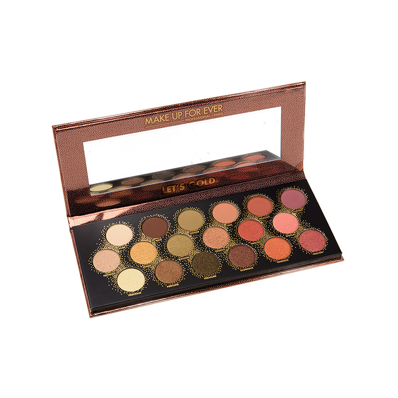 Paleta 18 farduri Editie Limitata Lets Gold Make Up For Ever