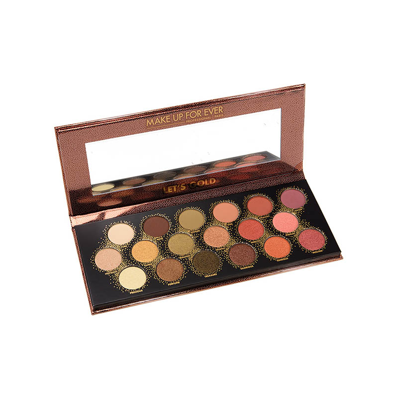 Paleta farduri Let s Gold Make Up For Ever