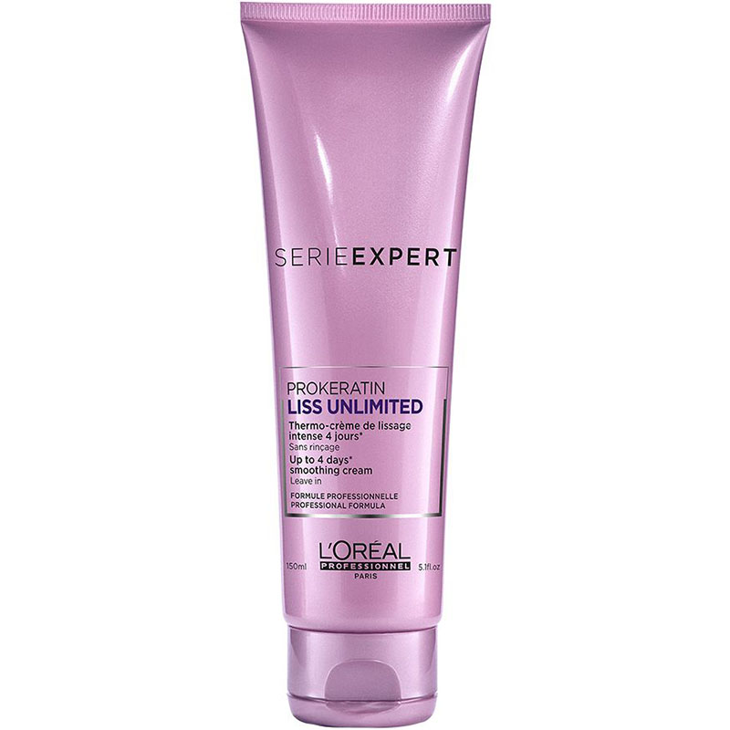 Crema leave-in pentru netezire Serie Expert LISS UNLIMITED 150 ml LOreal Professionnel