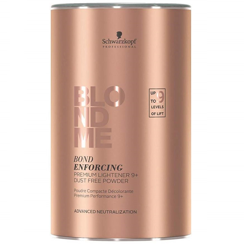 Pudra decoloranta BlondMe Bond Enforcing premium lightner 9+ 450g Schwarzkopf