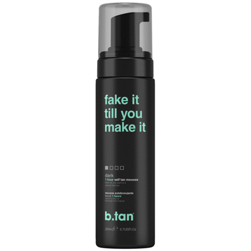 SPUMA AUTOBRONZANTA - FAKE IT TILL YOU MAKE IT - SELF TAN MOUSSE DARK B.TAN