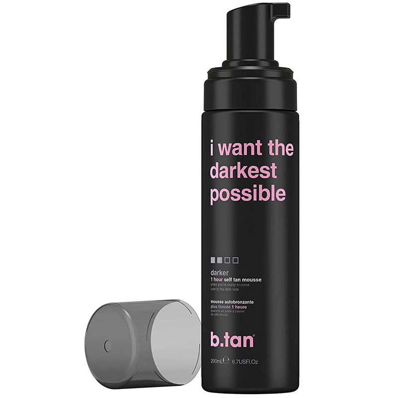 SPUMA AUTOBRONZANTA - I WANT THE DARKEST TAN POSSIBLE - SELF TAN MOUSSE DARKER B.TAN