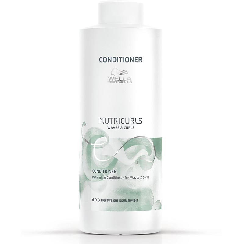 Balsam de Descurcare pentru Par Cret/Ondulat Nutricurls Detangling Conditioner for Waves and Curls Wella Professionals