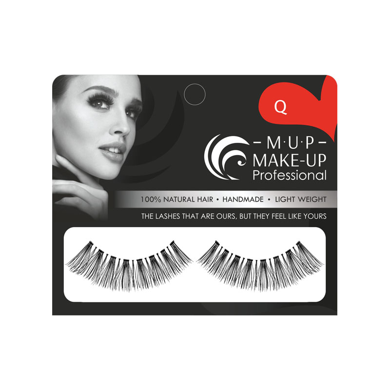 Gene false banda Q par natural Make-up Professional Eyelashes