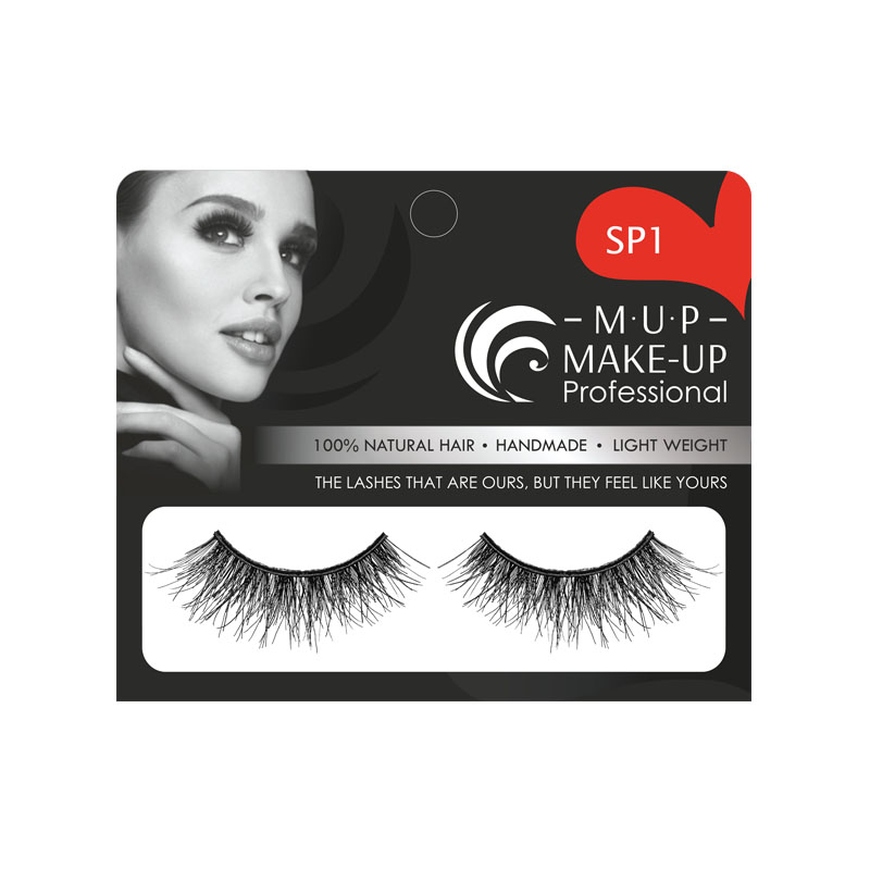 Gene false banda SP1 par natural Make-up Professional Eyelashes