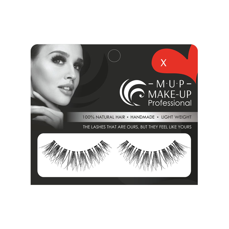 Gene false banda X par natural Make-up Professional Eyelashes