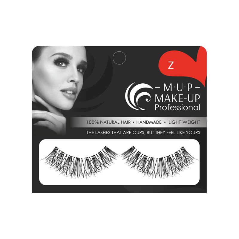 Gene false banda Z par natural Make-up Professional Eyelashes