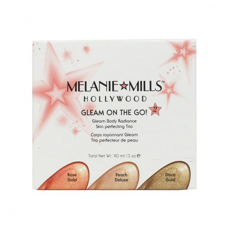 Kit trio glow girl - gleam on the go  Melanie Mills