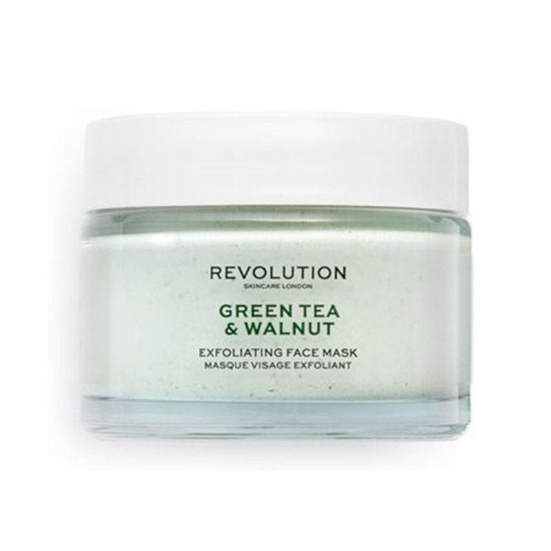 masca de fata - Green Tea & Walnut Exfoliating Face Mask Revolution SkinCare