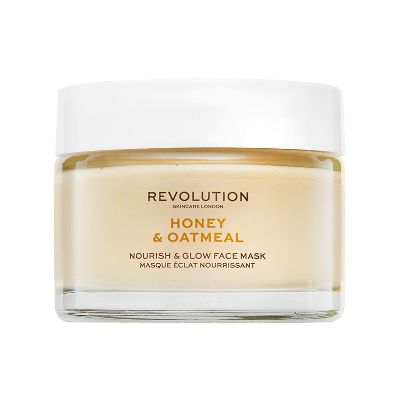 masca de fata - Honey & Oatmeal Nourish & Glow Face Mask Revolution SkinCare